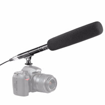 Micrófono Con Sistema Unidireccional Videocámara O Dslr