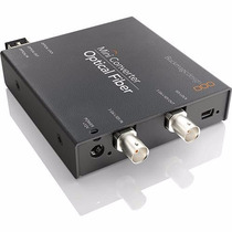 Blackmagic Design Convmof Mini Convertidor De Fibra Optica