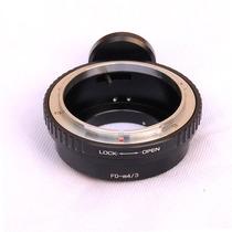 Adaptador Lentes Canon Fd A Micro 4/3 Olympus Panasonic Maa