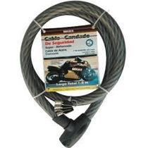 Candado De Fñexible Cable Mikels! Ideal Para Bicicletas! Rm4