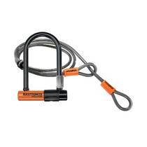 Candado U-lock Bicicleta Kryptonite Evolution Mini-7 + Cable