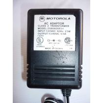 Cargador Eliminador Motorola Modelo 2580600e01 13.8v 23w