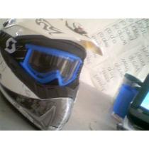 Casco Motocross Enduro Con Googles Cuatrimoto Xl Nuevo