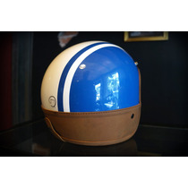 Casco Bobber Jet Marca Atop-head Modelo Old Leather Neck