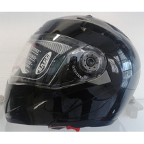 Casco Abatible Dot Moto Iron/lente Interno/motociclista