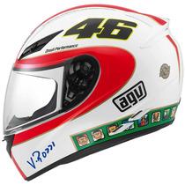 Casco Agv Moto K3 Street Road Icon Valentino Rossi Talla L
