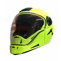 Casco Modular Para Motocicleta Stealth