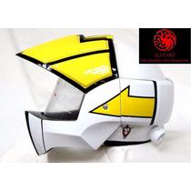Casco Moto Robotech / Macross Roy Focker Dyrl / Ben Dixon