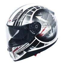 Casco Ls2 Moto Ff384 Moby Mica Interna Sunvisor Talla L