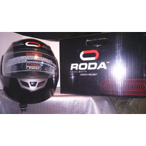 Casco Roda Abatible Negro