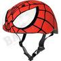 Casco Marvel Spiderman Hero Bike Rojo Para Niño