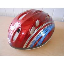Casco Ciclismo Bicicleta Marca Bell 54-56 Cm. +x