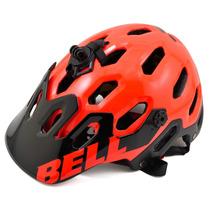 Casco Bell Super 2 Color Rojo Infrared Talla M (55-59cms)