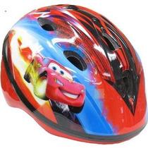 Bike Helmet Disney Cars Niño Diseño Auto-ajusta Pinchguard R