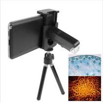 Microscópio Lupa Com 60-100x Zoom Digital P Celular