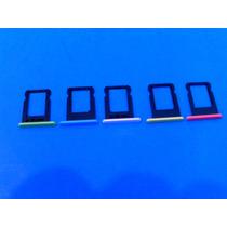 Porta Sim Charola Chip Iphone 5c Colores Envio Inmediato!!!