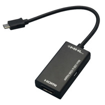 Adaptador Mhl Micro Usb A Hdmi P/ Galaxy S2, Note, Htc, Etc