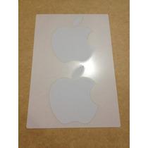 X2 Apple Estampas Stickers Calcomanías Originales