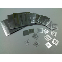 Kit De 36 Stenciles Para Wii, Psp, Ps3, Xbox360, Reballing