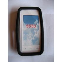 Protector De Silicon Negro Para Nokia 5530 !!!!!!!!!!!!!!!!!