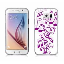 Funda Para Celular Caso S6, Samsung Galaxy S6 Caso Música Ri
