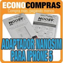 Adaptador Nano Sim Y Micro Sim Para Iphone 5 100% Nuevo