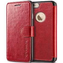Además Del Caso Del Iphone 6s, Verus [capas Dandy] [vino Roj