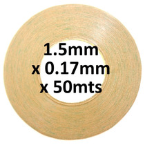 Cinta 3m 9495le Doble Cara 1.5mm 50mt Transparente Celulares