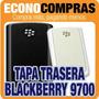 Tapa Trasera Para Blackberry 9700 Blanco Y Negro 100% Nuevas