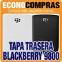 Tapa Trasera Para Blackberry 9800 Blanco Y Negro 100% Nuevas