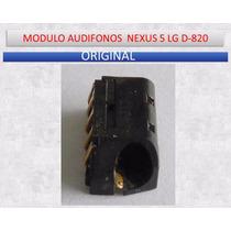 Modulo Audifonos Nexus 5 Lg D-820