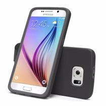 Funda Para Celular Galaxy S6 Caso, Ace Teah De Doble Capa