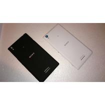 Original Tapa Trasera Sony Xperia T3 Negra & Blanca