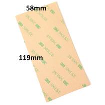 10 Hojas Adhesivas 3m Doble Cara 58mm X 119mm Cinta 300lse !