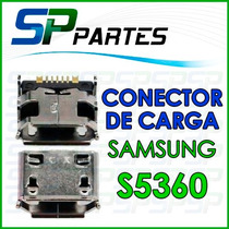 Conector De Carga Micro Usb Para Samsung S5360