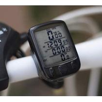 Velocimetro Odometro Ciclocomputador Bicicleta Con Luz Led
