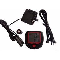 Velocímetro Digital Odómetro Para Bicicleta 13 Funciones-neg
