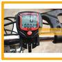 Velocimetro Digital Odometro Computadora Bicicleta Lcd Reloj