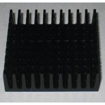 Disipador De Calor De Aluminio 35 X 35 X 10 Mm