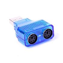 Adaptador Usb A Ps2 (teclado Y Mouse Minidin)