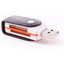 10 Multilectores Memoria Giratorio Usb Micro Sd Memory Stick