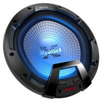 Subwofer Xplod Sony (una) 1 800w Con Iluminacion Led 30 Cm