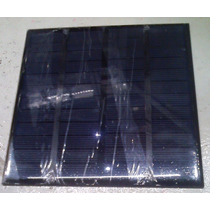 Panel Celda Solar 12v 250mah 3watts