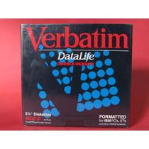 Diskettes O Disquettes Verbatim 5 1/4 Md2-d