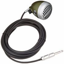 Microfono: Bala Verde Shure 520dx Armónica Micrófono Dinámic