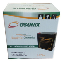 Baterias Marca Osonix 12v/5ah,recargable, No-breaks, 2 Años