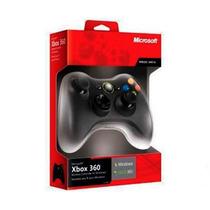Control Wireless Microsoft Xbox 360 Negro +c+