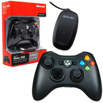 Control Wireless Microsoft Jr9-00011xbox 360 Negro +c+