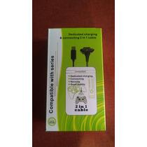 Cable Kit Carga Y Juega Para Control Inalámbrico Xbox 360