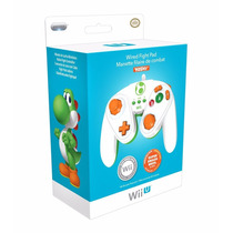 ..:: Control Fight Pad Yoshi ::. Para Wiiu En Start Games